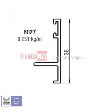 6027 - TAPA PREMARCO INTERIOR. - PERFIL ALUAR