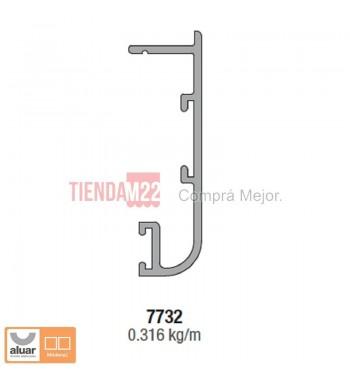 7732N - TAPA PREMARCO ANCHO NATURAL