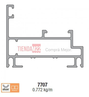 7707N - MARCO REBATIR NATURAL