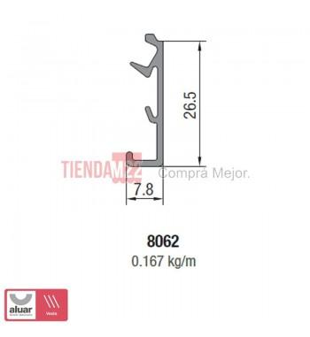 8062N - TAPA PREMARCO PARA CLIP NATURAL