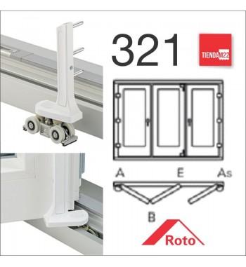 PLEG. P/PVC 321 UMBRAL EMBUTIDO -     PLG-PVC-E-321