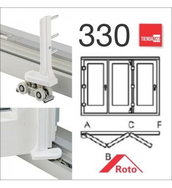 PLEG. P/PVC 330 UMBRAL EMBUTIDO -     PLG-PVC-E-330