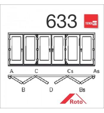 PLEG. P/PVC 633 UMBRAL EMBUTIDO -     PLG-PVC-E-633