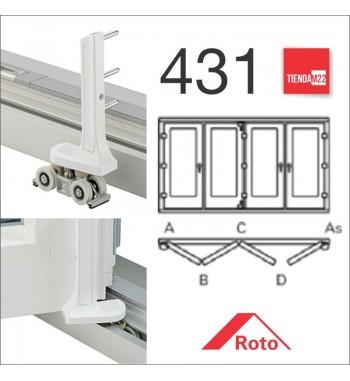 PLEG. P/PVC 431 MARCO PERIMETRAL -     PLG-PVC-P-431