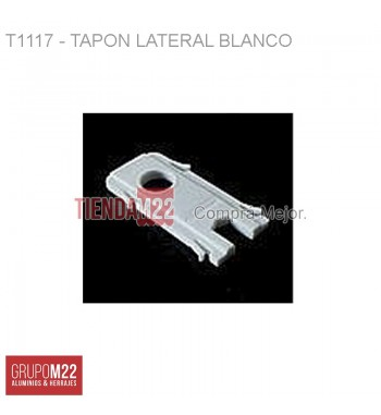 T117-A30 TAPON LATERAL BCO X 50 - M9919
