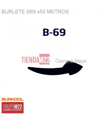 BURLETE B69 X50 - R-PC1013-50