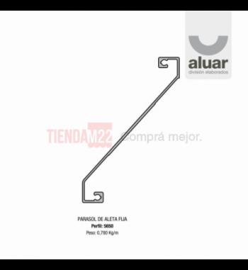 5650 - PARASOL DE ALETA FIJA- PERFIL ALUAR