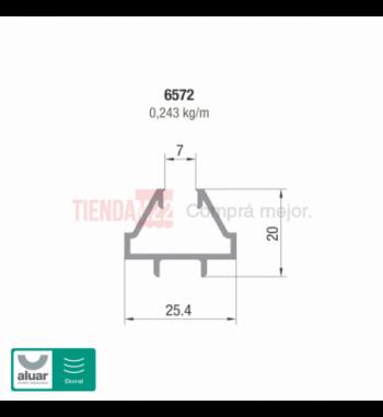 6572 - PERIMETRAL REPARTIDO - PERFIL ALUAR