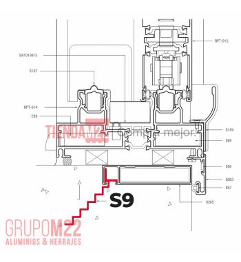 S9-GRAMPA DE AMURE X100 - M3126