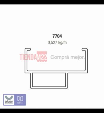 7704 - ADAPTADOR DVH 32 MM- PERFIL ALUAR
