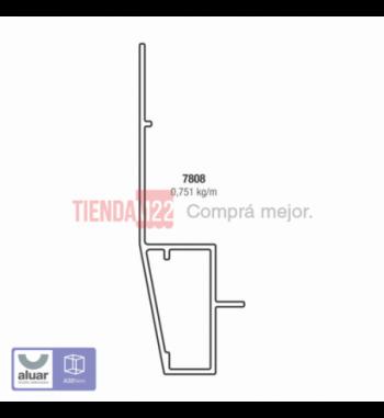 7808 - TERMINACIÓN EXTERIOR PREMARCO- PERFIL ALUAR