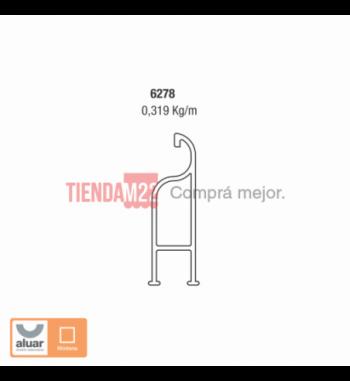 6278 - COMPENSADOR CORTO POSTIGÓN DE REBATIR- PERFIL ALUAR