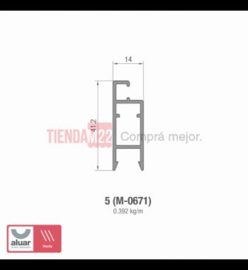 5 - MOSQUITERO (M-0671)- PERFIL ALUAR