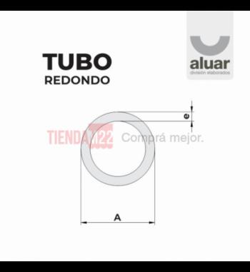 PC-709 - TUBO REDONDO 62 X 9 - ALUAR